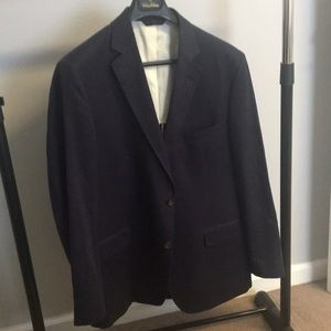 """Regent fit"" linen blazer"
